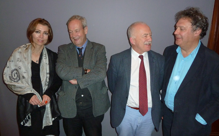historians Norman Stone and Philip Mansel, Turkish-based journalist Andrew Finkel, and novelist Elif Shafak
