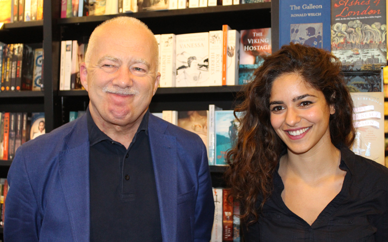 Philip Mansel with Maya Chehade, Waterstones, London